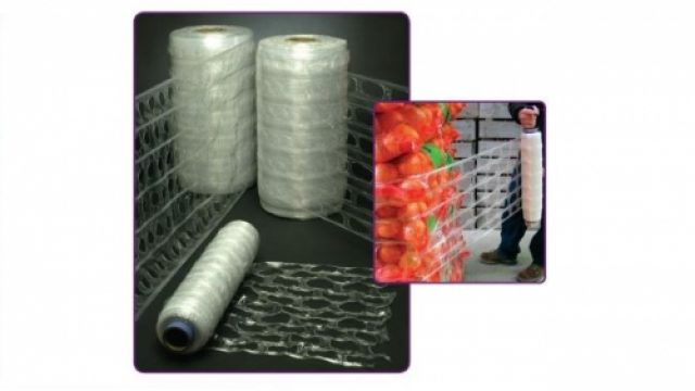 Macroperforated stretch film