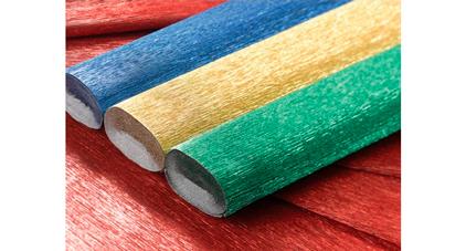 Papier crêpé